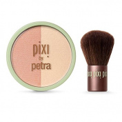 Pixi - Beauty Blush Duo + Kabuki Peach Honey