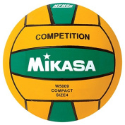 Mikasa W5009GRE Competition Game Ball, Green/Yellow, Size 4
