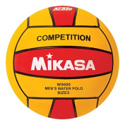 Mikasa W5000RED Competition Game Ball, Red/Yellow, Size 5