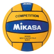 Mikasa W5000BLU Competition Game Ball, Blue/Yellow, Size 5