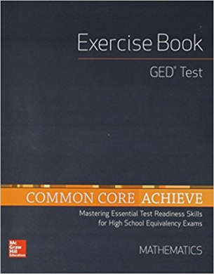High School Equivalency Achieve, GED Exercise Book Math (Basics & Achieve)