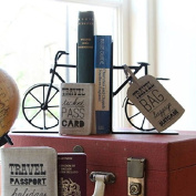 Cycling Bicycle Metal Bookends, the perfect gift for any cyclist!