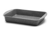 Aeternum Bakeware PETRAVERA Lasagne Pan, Steel 35x27 cm grey