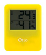 Yellow Magnetic Indoor Thermometer/hygrometer