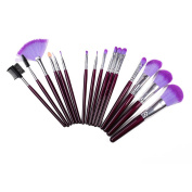 16 Wooden Handle Long Pole Portable Section Set Brush Make-up Brush Beauty Makeup Tools Beginners