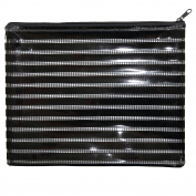 Large Glossy Black PVC Pencil Case Wash/Make Up Bag