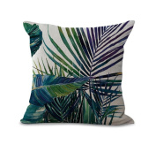 Pillow Case Tree Leaf Sofa Bed Home Decoration Festival Pillow Case Cushion Cover