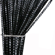 Glitter Spaghetti Tassel Door Curtain Fly Insect Bug Screen String For Doorways Divider or Window Curtain Panel 100cm x 200cm
