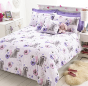 Great Knot Puppy Love easy Care Poly cotton Duvet cover set