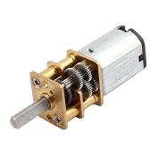 sourcingmap® DC 6V 15RPM High Torque 3mm Shaft Dia Low Speed Solder Gear Box Motor