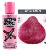 X4 Renbow Crazy Colour Conditioning Hair Colour Cream 100ml - Cyclamen