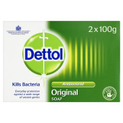 Dettol Anti-Bacterial Original Soap Bar, 100 g, Pack of 6