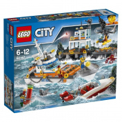 "LEGO UK 152820cm Coast Guard Head Quarters"" Construction Toy"