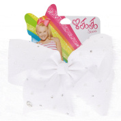 JoJo Siwa Large White Pearl Signature Hair Bow