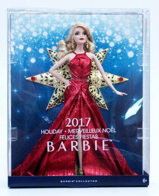 Barbie DYX39 2017 Holiday Doll