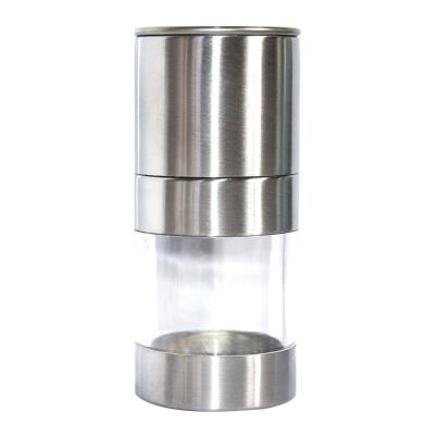 Stainless Steel Manual Salt Pepper Mill Grinder Portable Kitchen Mill Muller Tool