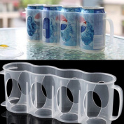 Mumustar Refrigerator Storage Box For Beverage Cans Drinking Can Space Saving Holder