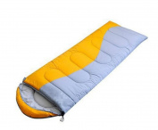 Thickening Hollow Cotton Envelopes Sleeping Bags Autumn And Winter Can Be Stitched Double Couples Sleeping Bags,Yellow