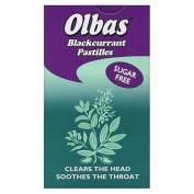 Olbas Blackcurrant Flavour Pastilles, 40 g, Pack of 12