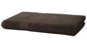 Egyptian Cotton Jumbo Bath Sheet 700gsm Luxury Extra Large Thick Bathroom Towels Super Soft Combed Highly Absorbent High Quality Towels 100 x 150 Cm , Chocolate