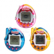 Top-Sell 90S Nostalgic 49 Pets Virtual Cyber Pet Game Child Toy Key Tamagotchi Buckles