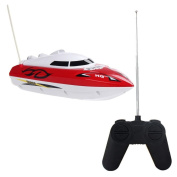 Transer® Toys For Kids- RC Speed Boat Dual Motor- Radio Remote Control Toy Gift