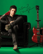 NOEL GALLAGHER - OASIS #1 10X8 Lab Quality Signed Photo Print