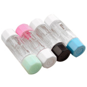 4 PCS 4 Colours Mini Travel RGP Hard Contact Lens Case Protective Box Cosmetic Contact Lens Container Holder