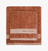 Marc O 'Polo Melange Towel Bath Towel 70 x 140 cm, Burnt Orange/Oatmeal