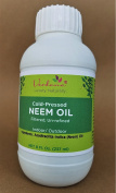 Organic Verdana Cold Pressed Neem Oil - 8 Fluid Ounce – Un-refined, Filtered - High Azadirachtin content - For Indoor and Outdoor Plant Spray - Plant Care, Pet care, Skin Care, Hair Care