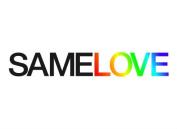"SAMELOVE LGBT Gay Pride Temporary Tattoo, Set of 2, Size – 2 ½"" x ½"""