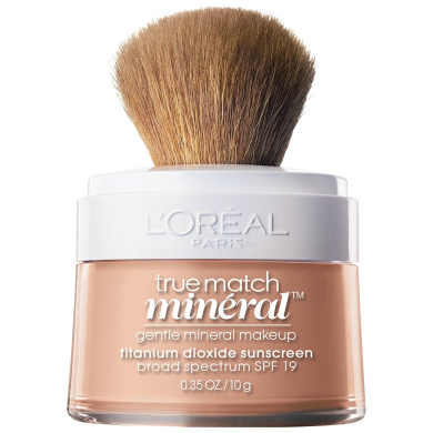 L'Oreal Paris True Match Mineral Foundation, Natural Ivory, 10ml