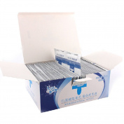 Baisidai 200 PCS Nail Art Polish UV Bulider Gel Remove Pads Wipes Application Easily Kits