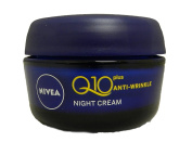 Night Cream :Nivea Visage Anti-Wrinkle Q10 Plus Moiturizer Night Reduces wrinkles visibly ,Regenerates skin during night .Net wt 1.76 Oz or 50 Ml. by onefeelgood shop