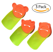 NewCool 3 Pack Faucet Extender Sink Handle Extender, Faucet Extension Faucet Handle Extender for Babies, Toddlers, Kids - Bathroom Accessory to Teach Children Safe Hand-washing Habits