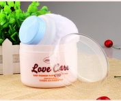 Baby Face Body Cosmetic Powder Puff Sponge Box Case Container Kit Safety Talcum Supplies