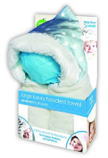 e-cloth Luxury High-Performance Hooded Baby Bath Towel with Micro-dry Technology - Blue, Large