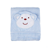 Zebrum Bamboo Hood Towel, Highly Soft & Absorbent Baby Bath Blanket with Animal Face for Newborn & Kids, 120cm x 100cm