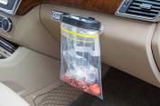 Hever Portable Multifunctional Foldable Collapsible Car Organiser Mini Car Garbage Bag Clip