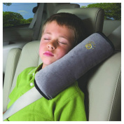 Inkach Auto Pillow Car Safety Belt Protect Shoulder for Kids Adjustable Vehicle Seat Belt Cushion Pad Mat Baby Gift