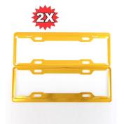 Car Window Curtain - Sandistore 2 Pcs Aluminium Alloy Licence Plate Frames Tag Cover Screw Caps