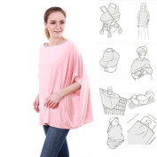 ( 14 patterns ) 360° Full Coverage Multi Use Stretchy Nursing Cover Up For Breastfeeding car seat cover 4 in 1 / Nursing Cover Ups / Nursing Tops / Nursing Cover Poncho