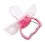 Squeaky Clean Baby Pacifier with Case Pink