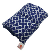Pello Comfy Cradle - Slip-on Arm Pillow for Baby Nursing - Reversible, Adjustable, Washable, Durable, Nathan/Navy