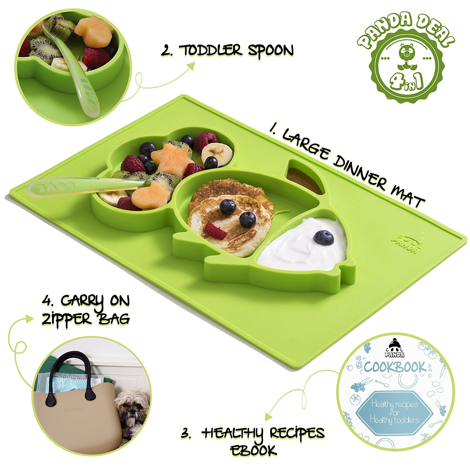 Silicone Baby Spoons Buy Online From Boon Squirt Green Kiwi