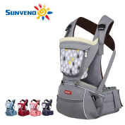 SUNVENO Baby Hipseat Carrier 2in1 Comfort Ergonomic Waist Stool Baby Carrier Hip Seat