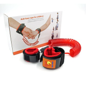Switol Child Anti Lost Belt, Hook and loop Wrist Link, Skin Friendly Safety Strap for Kids ,up to 250cm /2.5 M