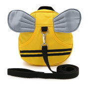 Sumnacon Toddler Backpack, Baby Anti-lost Backpack, Mini Travel Safety Bag, Baby Walking Safety Harness Reins Strap Backpack Assistant with Safety Leash …