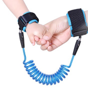 Sungrace 8.2 feet Baby Child Anti Lost Safety Hook and loop Wrist Link