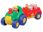 Play Learn Fun - Musical Tractor & Trailer